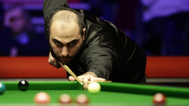 Hossein Vafaei seals semi-final spot at China Championship