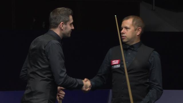 Selby's final-frame 98 sinks Hawkins in decider