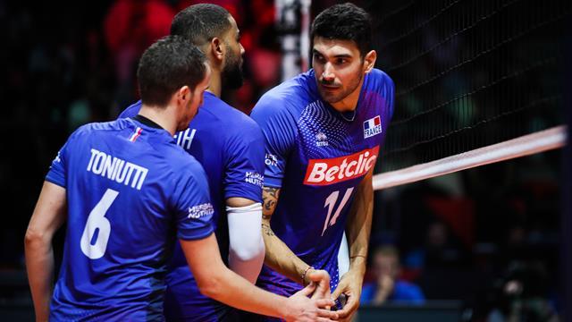Les Français renversent la Slovénie pour continuer à rêver des JO — Volley