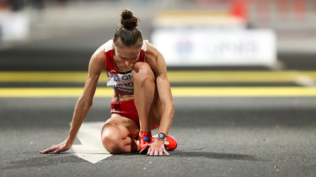 🏃♀️😓 ¡Sufrimiento extremo! Así fue la maratón más dura de la historia en Doha