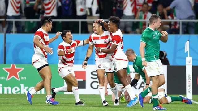 Storica vittoria del Giappone davanti ai propri tifosi: Irlanda piegata per 19-12!