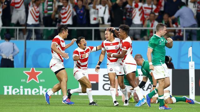 Japan shock Ireland in World Cup upset