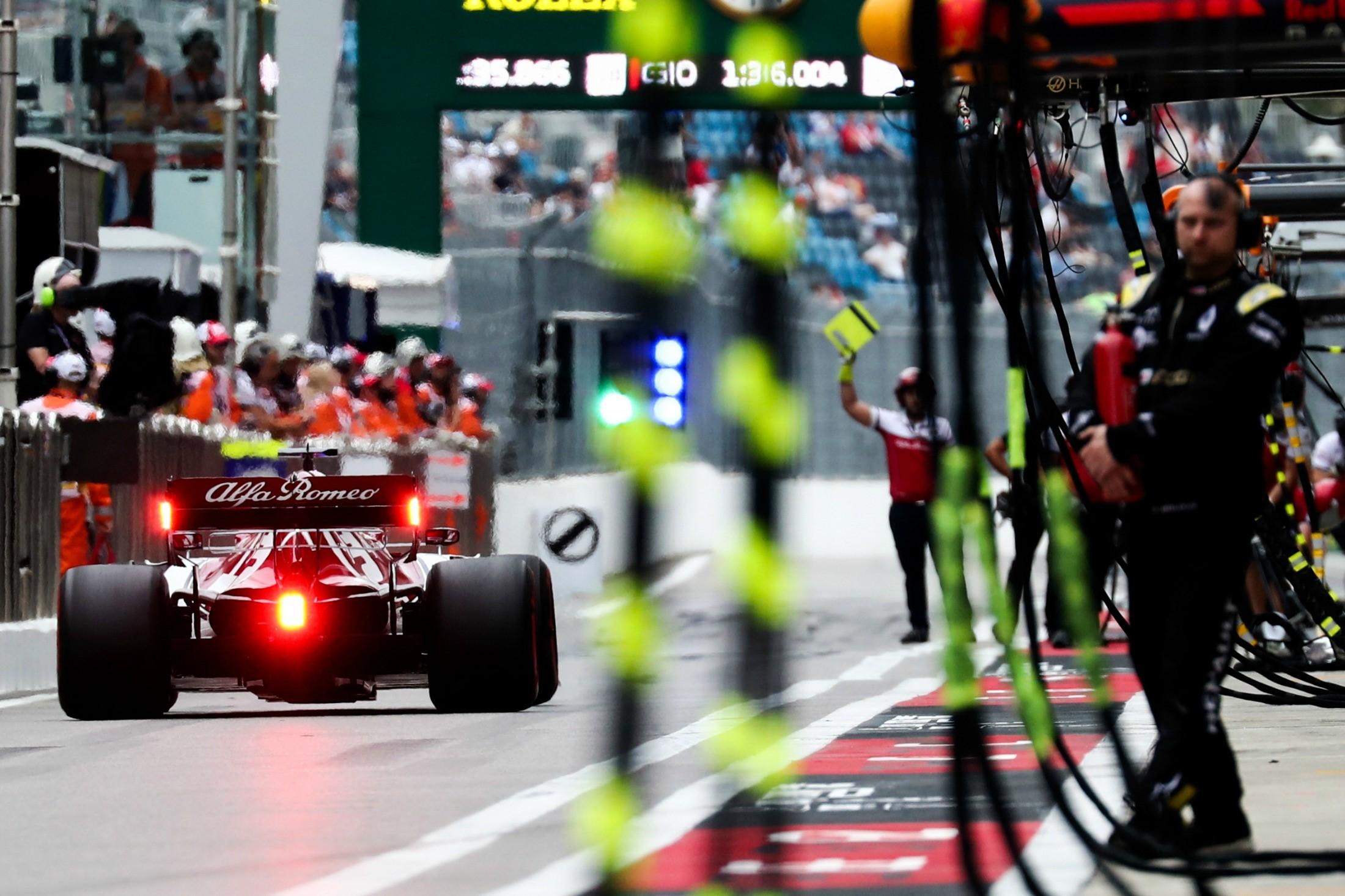 Kimi Räikkönen (Alfa Romeo) au Grand Prix de Russie 2019