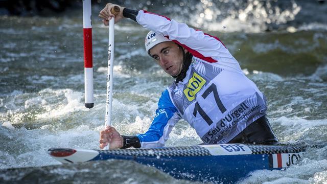 Le Français Joly champion du monde en slalom