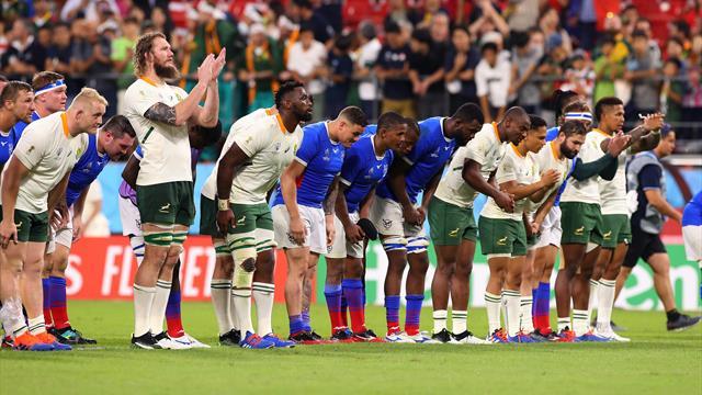 Sudafrica-Namibia 57-3: la prossima avversaria dell'Italia mette a segno 9 mete