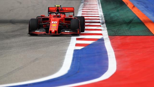 Quatre à la suite pour Leclerc et Ferrari