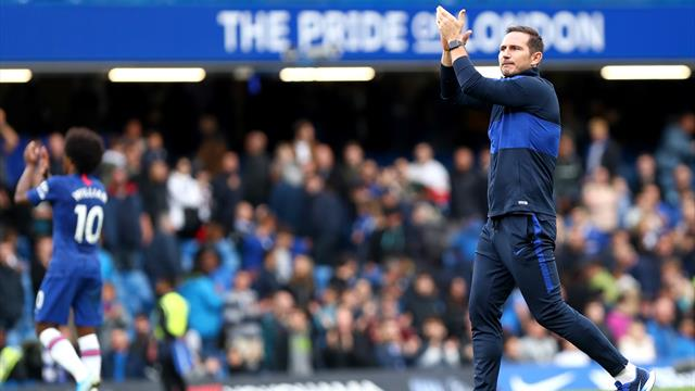 Lampard secures first home win as Chelsea beat Brighton