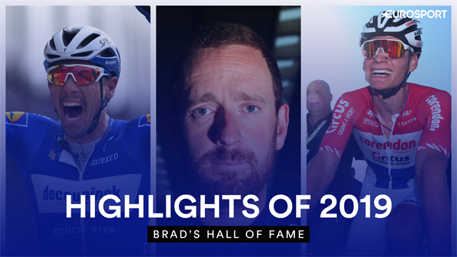 Brad's Hall of Fame - Wiggins picks his cycling highlights of 2019