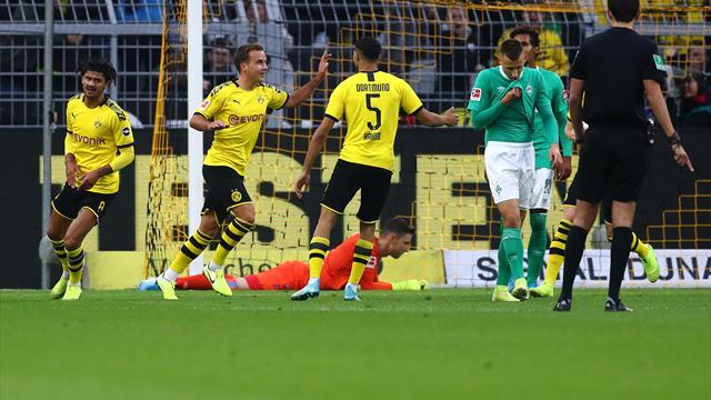 Borussia Dortmund: Götze e Reus non bastano, col Werder Brema è solo 2-2