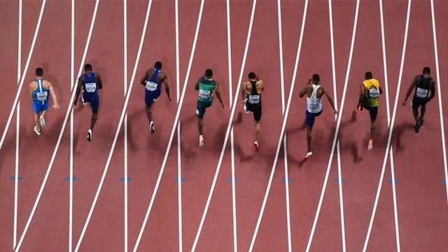 La finale dei 100 metri di Doha: Tortu lotta come un leone, Coleman è l'uomo jet 2019