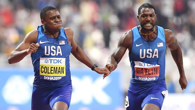 Mondialele de Atletism | Coleman a câștigat proba de 100 metri, cu a 6-a performanță din istorie