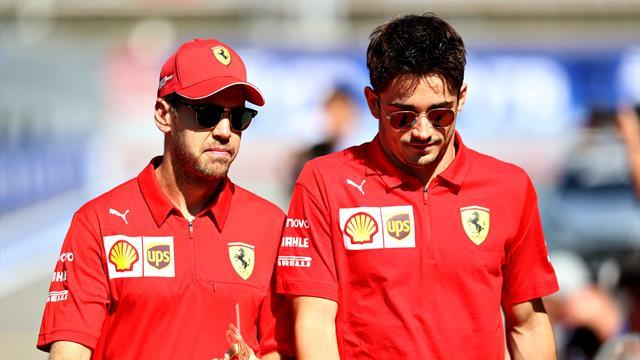 """Leclerc : """"Il y a eu des malentendus avec Vettel"""""""