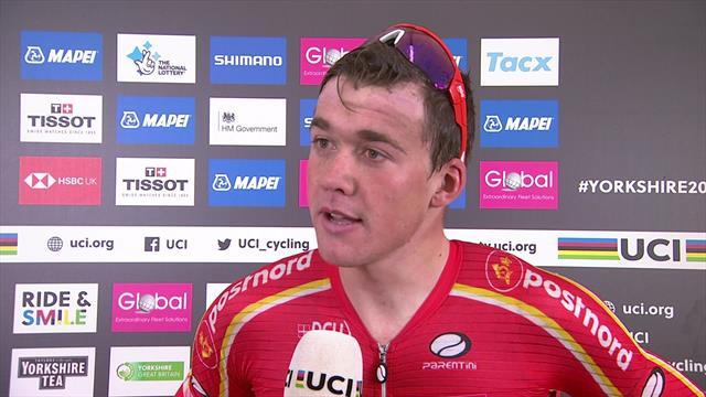 """Mundiales ciclismo 2019, Pedersen: """"No me lo esperaba cuando me desperté esta mañana"""""""