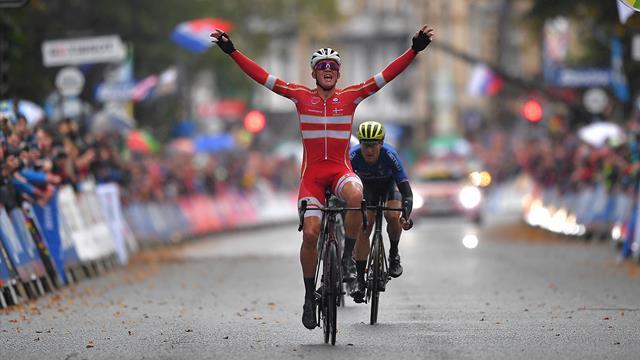 Mads Pedersen a câștigat cursa de șosea de la Mondialul de ciclism. Surpiză enormă la Yorkshire