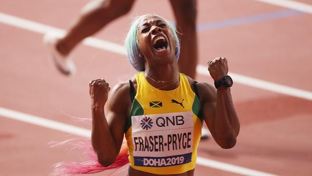 Dix ans après, Fraser-Pryce est encore au sommet : son 100m canon en vidéo