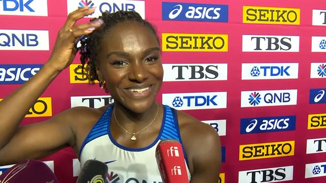 Dina Asher-Smith: Hopefully I'll get enough sleep before the 200m!