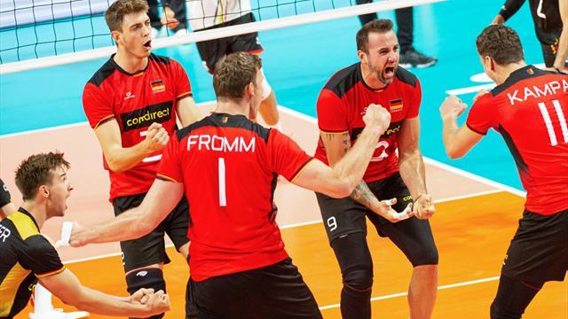 Deutsche Volleyballer mit machbaren Gegnern bei Olympia-Quali
