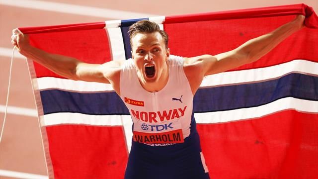 'I'm in the history books' - Warholm wins 400m hurdles