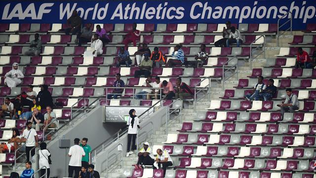 IAAF 'working hard' to address 'disappointing' World Championships attendances