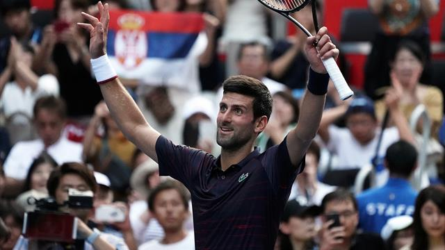 Djokovic cruises into second round in Tokyo