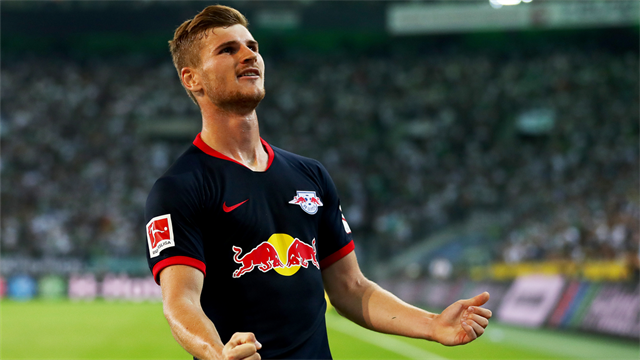 Manchester United battle Liverpool for RB Leipzig and Germany striker Timo Werner