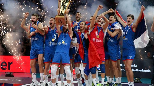 Serbia beat Slovenia to win 2019 Men's European Championships in Paris