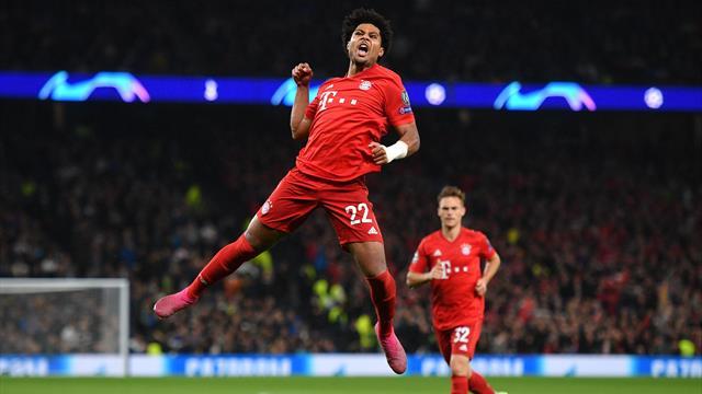 Trionfo Bayern a Londra: 7-2 al Tottenham! Gnabry cala il poker e umilia gli Spurs