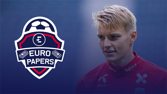 Euro Papers: Arsenal to replace Ozil with Odegaard