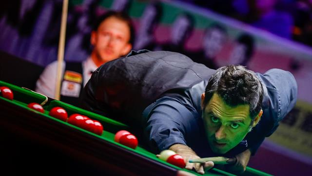 Trump and O'Sullivan in action on bumper opening day of English Open