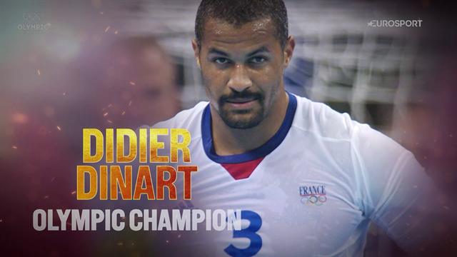 """Didier Dinart, le """"boucher"""" champion olympique"""