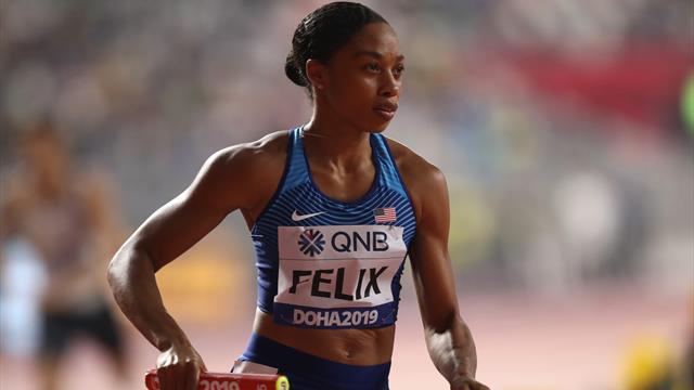 Infinita Allyson Felix: dopo la maternità e la polemica con Nike supera il record di ori di Bolt
