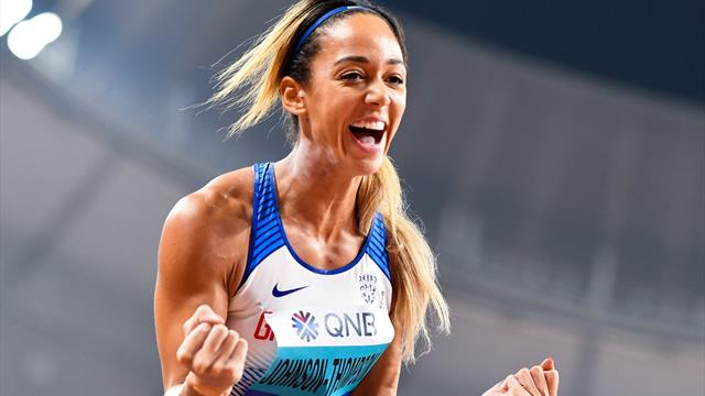 Johnson-Thompson leads Thiam after sensational heptathlon first day