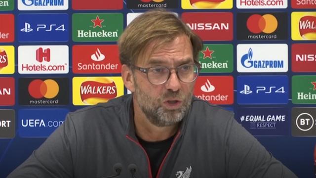 Klopp: Liverpool performance 'didn't make any sense'