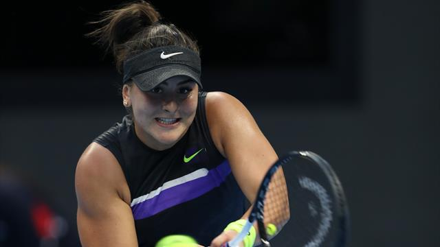 Implacable, Andreescu se mesurera bien à Osaka