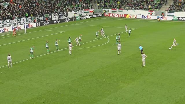 Höjdpunkter: Ferencvaros v Ludogorets