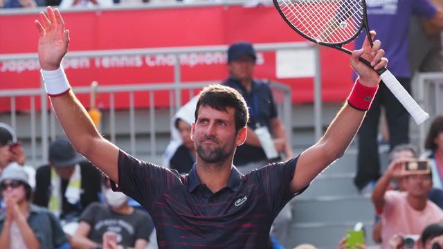 Tennis: Novak Djokovic vince il torneo di Tokyo