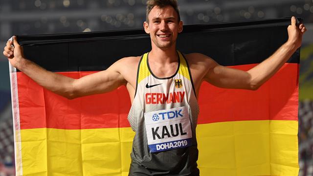 """Zehnkampf-Weltmeister Kaul: """"Titel ist Motivation für Olympia"""""""