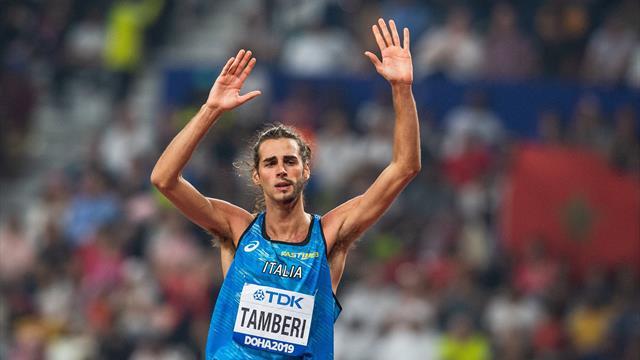 Tamberi è solo ottavo nella finale mondiale di salto in alto: l'azzurro si ferma a 2.27