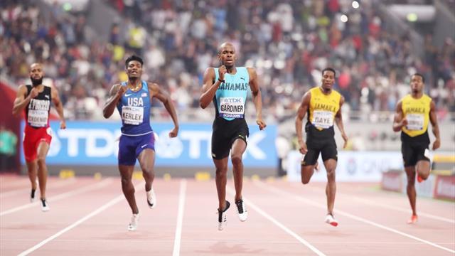 Gardiner powers away to win dramatic 400 metres
