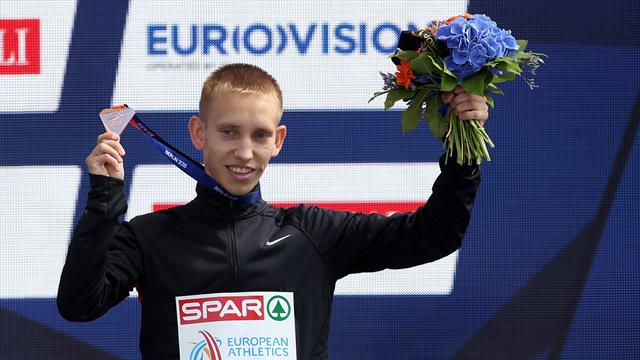 Мизинов взял серебро чемпионата мира в ходьбе