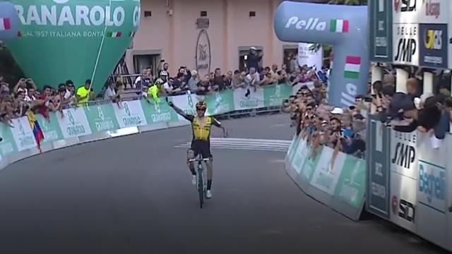 Che numero di Roglic! Lo sloveno stacca tutti e vince il Giro dell'Emilia in solitaria