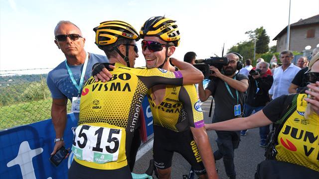 Roglic continues stellar form with Giro dell'Emilia win