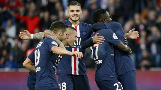 PSG – Angers 4-0: Primul gol acasă înscris de Icardi, un nou meci excelent făcut de Gueye