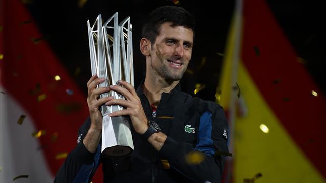 Federer s'en sort face à Goffin — ATP Shanghai