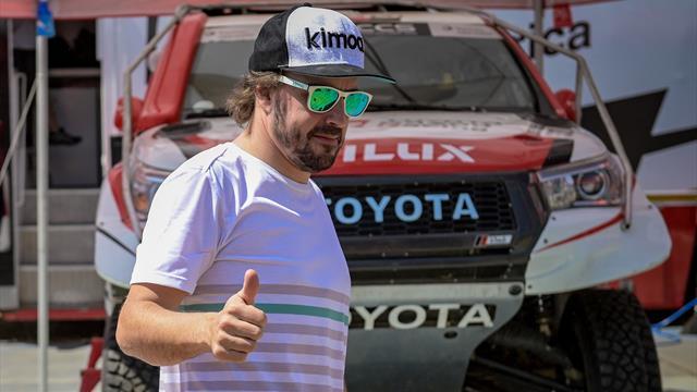Sainz, sin triunfo final en Marruecos y esperanzador final para Alonso