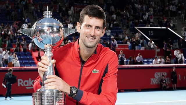 Djokovic, une promenade pour un titre