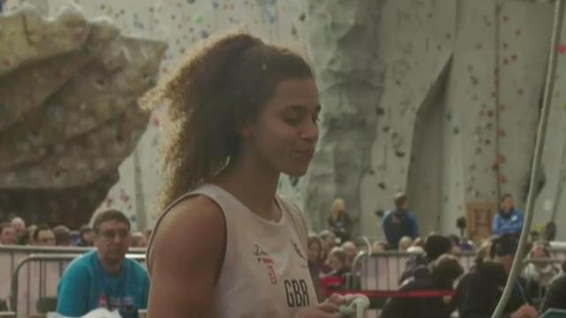 Molly Thompson-Smith climbs well but misses out on final spot
