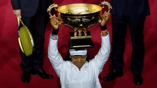 Осака взяла третий титул в сезоне