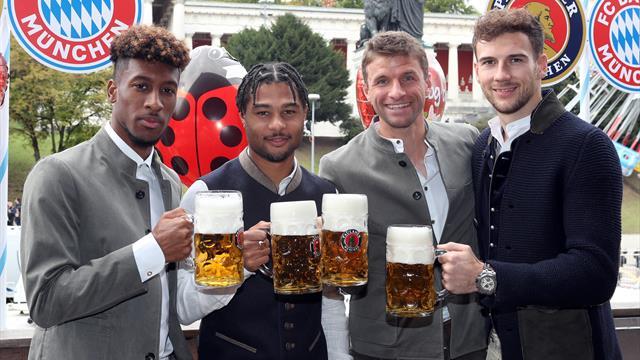 Nach Hoffenheim-Pleite: Bayern-Stars mit Galgenhumor auf dem Oktoberfest