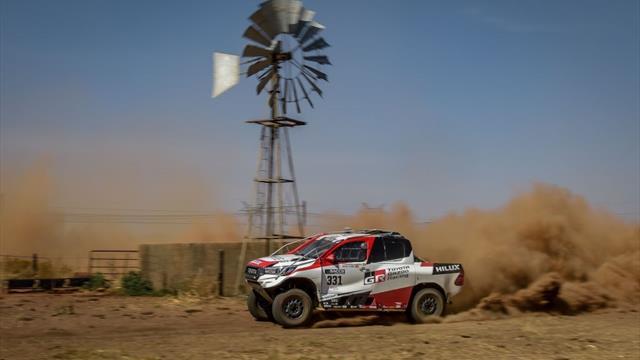 Alonso poursuit son apprentissage laborieux du désert